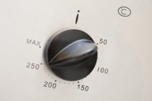 Temperature control on an oven