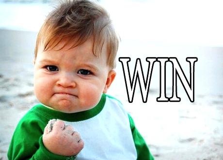 Just win!