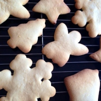 Basic Christmas cookie with Rice Malt Syrup