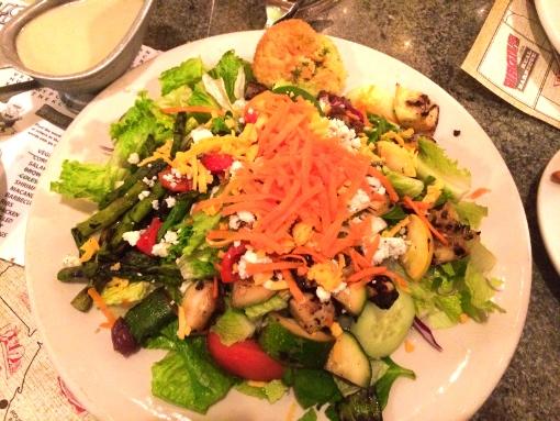 tsbu salad plate dressing on the side ny usa america