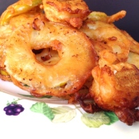 Apple and Banana Fritters