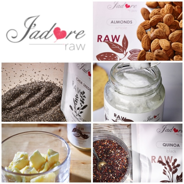 J'adore raw prize pack