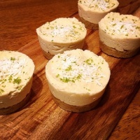 Raw Coconut Lime Cheesecake by our FB Comp Winner Victoria