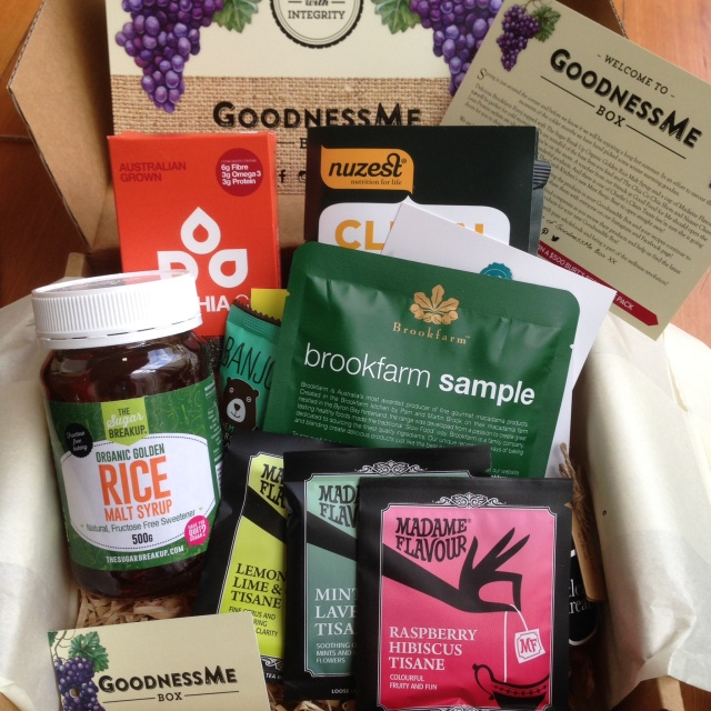GoodnessMe box open