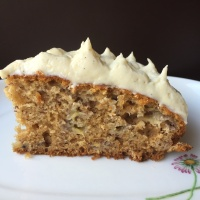 Butterscotch Banana Cake
