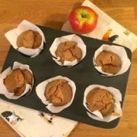 Cafe Style Buckwheat Apple & Carrot Muffins By Gluten Free Feast