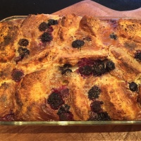 Bread & Butter Pudding Using Scones