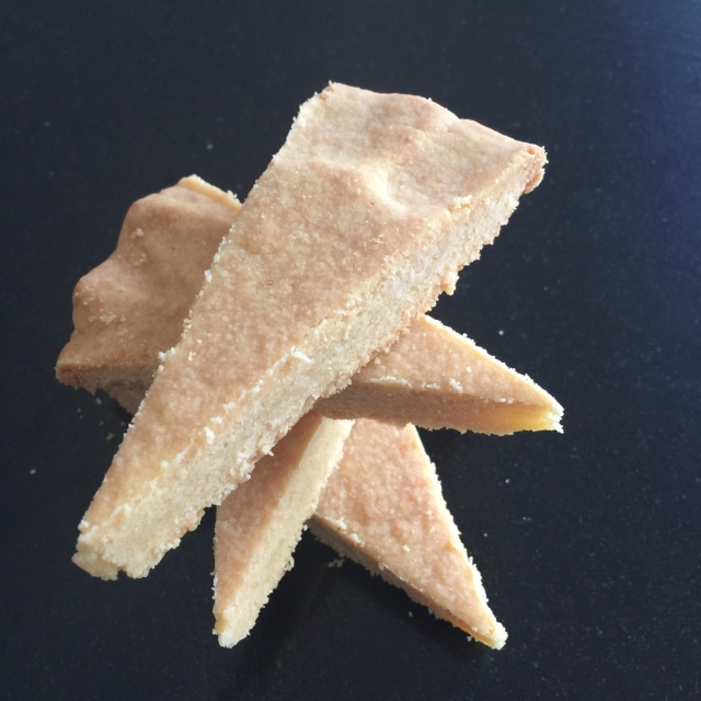 Lighter shortbread